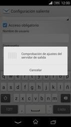 Sony D2203 Xperia E3 - E-mail - Configurar correo electrónico - Paso 15