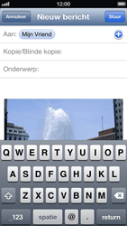 Apple iPhone 5 - E-mail - Hoe te versturen - Stap 8