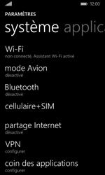 Microsoft Lumia 435 - Réseau - Changer mode réseau - Étape 4