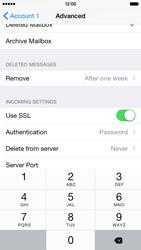 Apple iPhone 6 Plus iOS 8 - Email - Manual configuration - Step 23