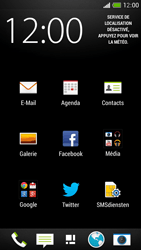 HTC One Mini - E-mail - Configurer l
