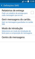 Samsung Galaxy J1 - SMS - Como configurar o centro de mensagens -  7