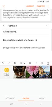 Samsung Galaxy S8 Plus - E-mail - envoyer un e-mail - Étape 13