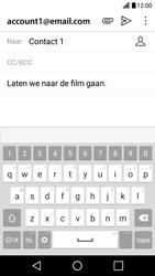 LG X Screen - E-mail - hoe te versturen - Stap 9