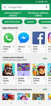 Samsung Galaxy S8 Plus - Aplicaciones - Descargar aplicaciones - Paso 4