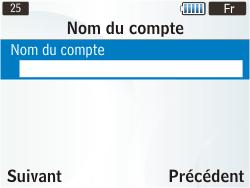 Samsung S3350 Chat 335 - E-mail - Configuration manuelle - Étape 11