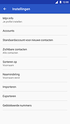 Nokia 8 (SingleSIM) (TA-1012) - Contacten en data - Contacten kopiëren van SIM naar toestel - Stap 6