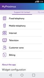 LG X Screen - Applications - MyProximus - Step 21