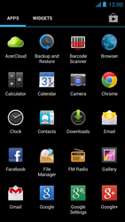Acer Liquid E2 - Email - Sending an email message - Step 3