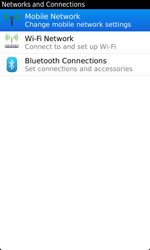 BlackBerry 9860 Torch - Network - Usage across the border - Step 5