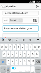 Huawei Y625 - E-mail - E-mails verzenden - Stap 9