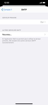 Apple iPhone XR - iOS 13 - E-mail - Configuration manuelle - Étape 17