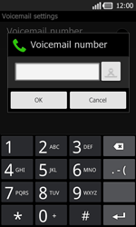 LG P940 PRADA phone by LG - Voicemail - Manual configuration - Step 7