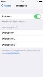 Apple iPhone SE iOS 10 - Bluetooth - Conectar dispositivos a través de Bluetooth - Paso 5