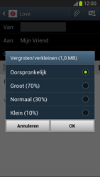 Samsung N7100 Galaxy Note II - E-mail - hoe te versturen - Stap 14