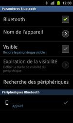 Samsung I8530 Galaxy Beam - Bluetooth - connexion Bluetooth - Étape 11