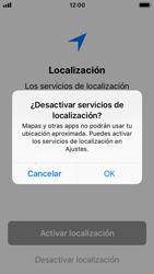 Apple iPhone 5s - iOS 11 - Primeros pasos - Activar el equipo - Paso 22