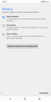 Sony Xperia XZ3 - E-mail - e-mail instellen (outlook) - Stap 15