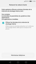 Huawei P9 - Device maintenance - Retour aux réglages usine - Étape 8