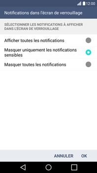 LG G4 - Sécuriser votre mobile - Activer le code de verrouillage - Étape 12