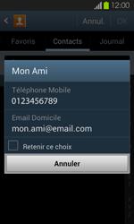 Samsung Galaxy S2 - Contact, Appels, SMS/MMS - Envoyer un SMS - Étape 7