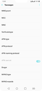 LG v40-thinq-lm-v405ebw - Internet - Handmatig instellen - Stap 14