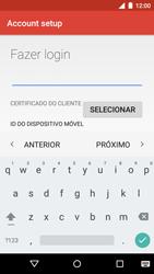 Motorola Moto G (3ª Geração) - Email - Como configurar seu celular para receber e enviar e-mails - Etapa 13