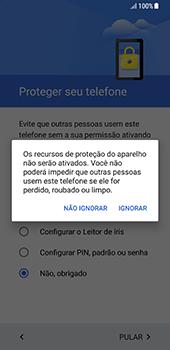 Samsung Galaxy S8 - Primeiros passos - Como ativar seu aparelho - Etapa 12
