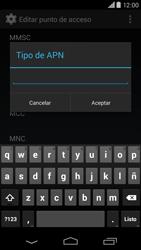 Motorola Moto X (2ª Gen) - Internet - Configurar Internet - Paso 13