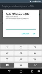 Sony Xperia XA1 - Sécuriser votre mobile - Personnaliser le code PIN de votre carte SIM - Étape 7