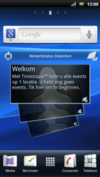 Sony Ericsson Xperia Play - Netwerk - Gebruik in het buitenland - Stap 1