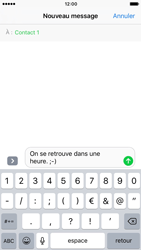 Apple iPhone 7 - Contact, Appels, SMS/MMS - Envoyer un SMS - Étape 8