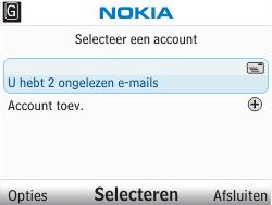 Nokia C3-00 - E-mail - hoe te versturen - Stap 4