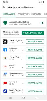 Samsung Galaxy A40 - Applications - comment vérifier si des mises à jour sont disponibles pour l'appli - Étape 7
