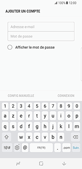 Samsung Galaxy S8 - E-mail - Configuration manuelle (outlook) - Étape 7