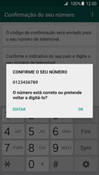 Samsung Galaxy S6 - Aplicações - Como configurar o WhatsApp -  11