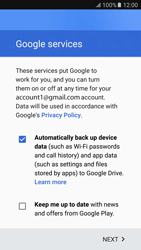 Samsung Samsung G920 Galaxy S6 (Android M) - Applications - Create an account - Step 18