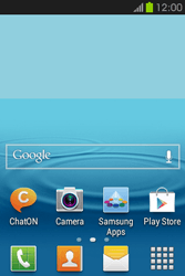 Samsung S6810P Galaxy Fame - Internet - Enable or disable - Step 2