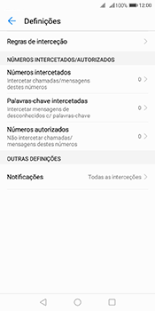 Huawei Y6 (2018) - Chamadas - Como bloquear chamadas de um número -  6
