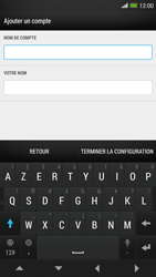 HTC One Max - E-mail - Configurer l