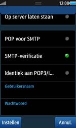 Samsung S8530 Wave II - E-mail - Handmatig instellen - Stap 13