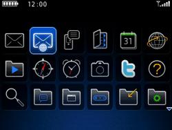 BlackBerry 9300 Curve 3G - E-mail - Hoe te versturen - Stap 3