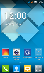Alcatel OT-4033X Pop C3 - Messagerie vocale - configuration manuelle - Étape 1