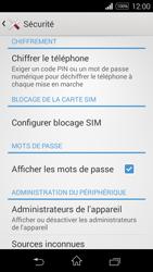Sony Xpéria E3 - Sécuriser votre mobile - Personnaliser le code PIN de votre carte SIM - Étape 5