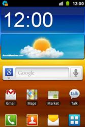 Samsung S7500 Galaxy Ace Plus - MMS - automatisch instellen - Stap 3