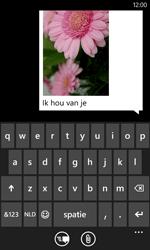 Nokia Lumia 625 - MMS - Afbeeldingen verzenden - Stap 11