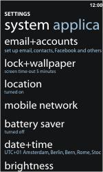 Nokia Lumia 900 - Network - Usage across the border - Step 4