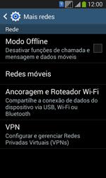 Samsung SM-G3502T Galaxy Core Plus Duo TV - Rede móvel - Como ativar e desativar uma rede de dados - Etapa 5