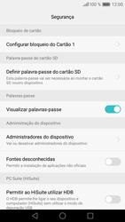 Huawei P9 Lite - Segurança - Como ativar o código PIN do cartão de telemóvel -  6
