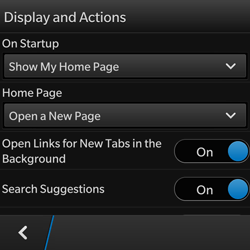 BlackBerry Q10 - Internet - Manual configuration - Step 17